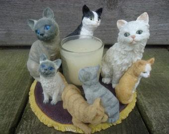 Spoontique Cat Votive Holder