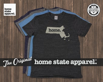 Massachusetts home. shirt- Men's/Unisex