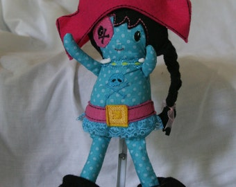 Girl pirate with Hat and boots