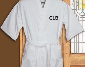 Personalized Embroidered Initials Robe