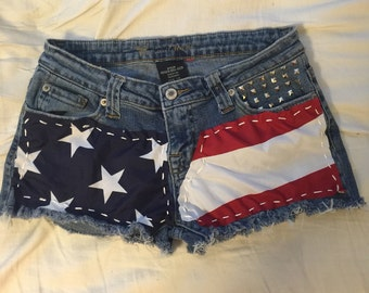 American Studded Shorts