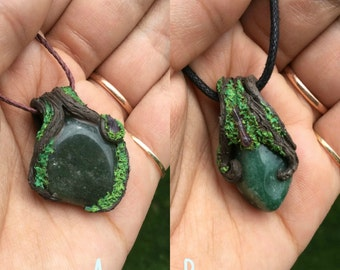 Mossy Aventurine Necklace