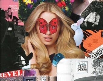 Collage Print - Alice