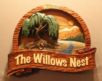 Custom Wood Signs | HOME SIGNS | House Signs | Cabin Signs | Vacation home signs | Cottage Signs | Carved Wooden Signs | Handmade Signs