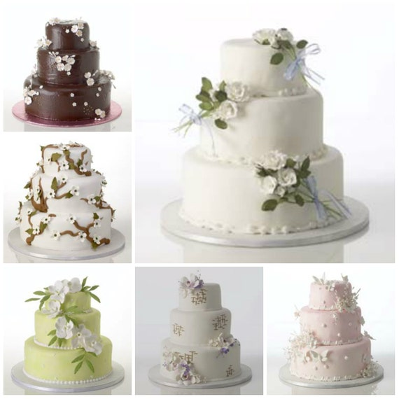 Wedding Cake Decoration Kit : Complete Cake Kit Decorations for Weddings or Birthdays