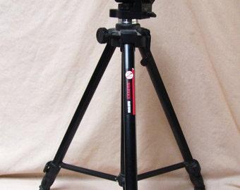 Vintage Camera Tripod Square Legs and Balance Level NABTEX NAB1000