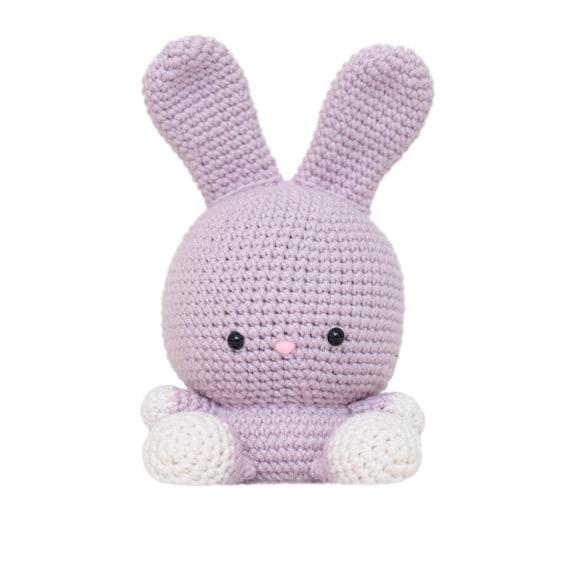 Amigurumi Bunny Ears : Ruby the Rabbit Amigurumi Pattern