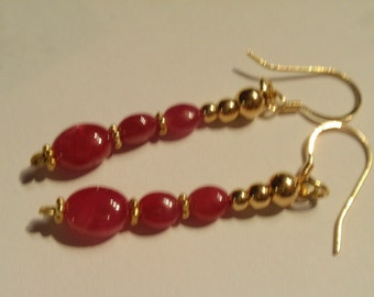 Ruby Necklace   (JK 752 earrings)