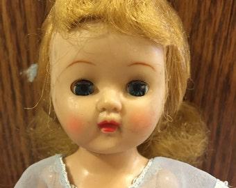 "Vintage 8"" walking Ginger doll made by Cosmopolitan"