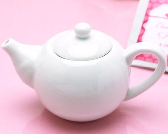 12 DIY MIni Teapot Favor