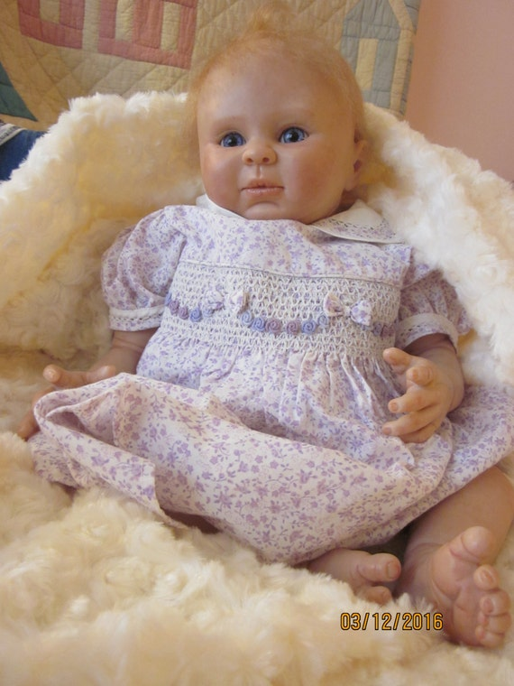 Reborn Baby Girl From Lilly Sculpt
