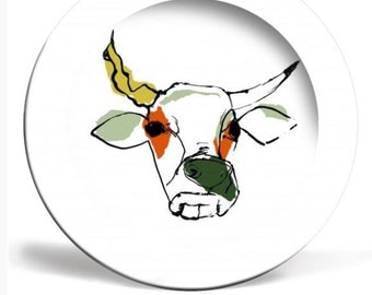 Illustrated plate 'This the cow with crumpled horn.... '