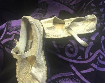 Closeout Mary Jane Shoe: Limited Color - Ivory 20% Off!!!