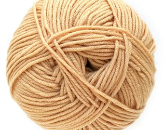 Camel Knitca Delight, DK Weight, 100% superwash merino wool yarn