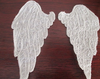 Angel wings, sew on appliques