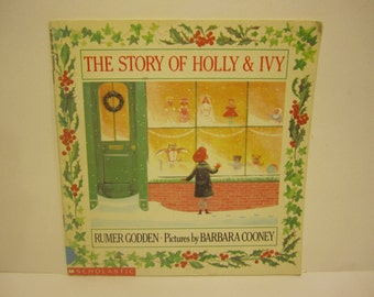 1992 The Story of Holly and Ivy Rumer Godden Barbara Cooney SOFTCOVER