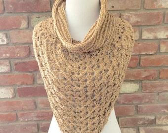 Crochet Bandana Scarf / Nursing Cover