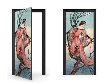 DoorWrap: Warwick Goble Fairy At Evening Tide