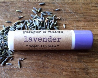 Lavender Vegan Lip Balm - Lavender - Vegan Lip Balm - Vegan