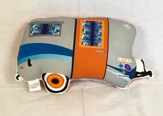Camper RV Vintage Style Pillow - Mini