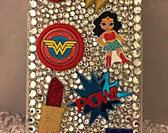 Wonder Woman cell phone case, can be put on any phone case!!