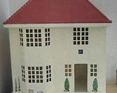 Miniature vintage triang style dolls house vinyl adhesive decal decorating set 5