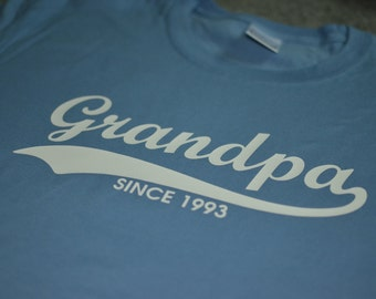 Grandpa t shirt T 09 dad daddy gift father's day gift fathers day gift dad shirt papa shirt grandpa shirt grandpa personalized shirt