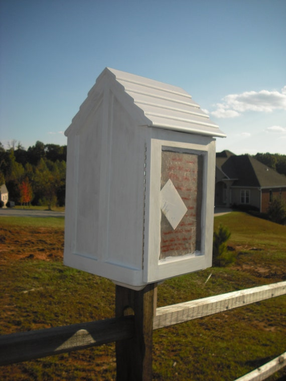 Neighborhood Library Box Book House On A By