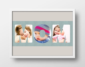 Personalized Mother's Day Gift, Gift for Mom, Personalized Photo Gift, Custom Photo Gift, Mom Gift, Gift for Grandma, Unique Photo Gift