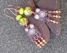 Lime Crush Earrings