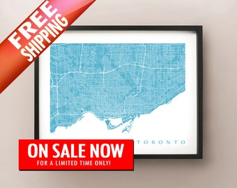 Toronto Map Print - Limited Sale