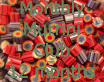 12 Months of Murrini - Subscription to the Monthly Murrini Club, 104 COE