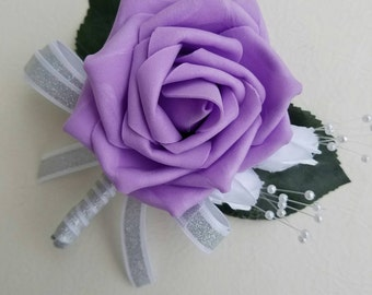purple boutonniere, classic boutonniere, Elegant boutonniere, affordable boutonnieres,groomsmen accessories, fall boutonnieres, wedding
