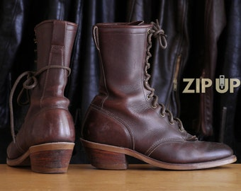 Vintage Packer Boots by Justin/Chipewwa