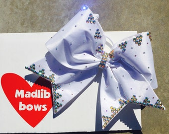 Lilah fabric cheer bow!
