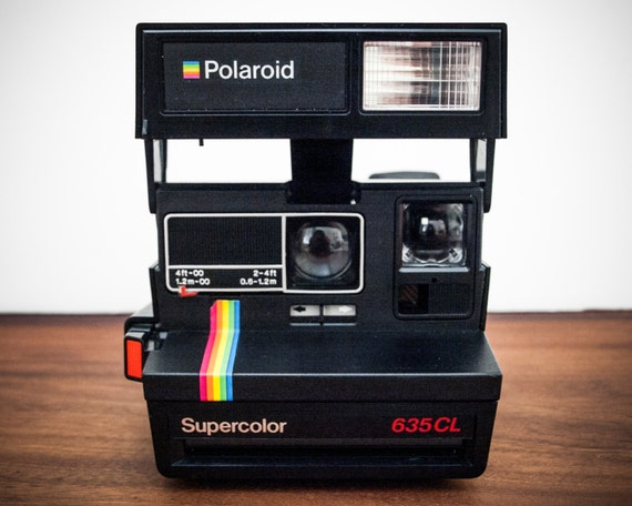 tested polaroid supercolor 635 cl rainbow polaroid instant. Black Bedroom Furniture Sets. Home Design Ideas