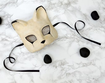 Cat Masquerade Mask - Made to Order
