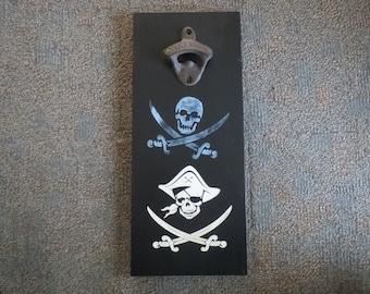Craft beer opener, Magnet bottle opener, Beer opener, Pirate opener