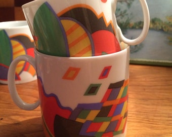 Rosenthal Thomas Cups Mugs, set of 8