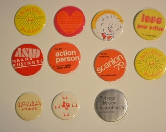 Herman Miller Factory Buttons 3 inch