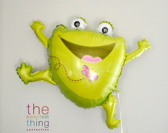 "36"" leaping frog balloon"