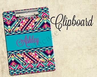 Personalized Clipboard, 2-sided Clipboard, Monogrammed Clipboards, Teacher Clipboard, Back To School Accessory, Teacher Gift