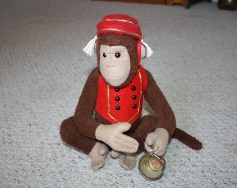 Hurdy Gurdy Joko Prototype Monkey handmade by Linda Spiegel