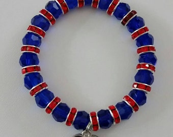 4th of July bracelet