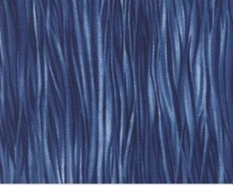 Moda Shibori~Blue Water~Cotton Fabric, Blender~Moda Studio~Fast Shipping,SB388