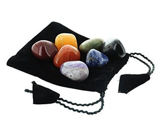 7 Chakra Tumble Stone Set XL