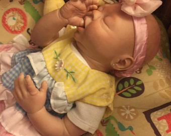 Sweet Sleeping Reborn Baby Girl