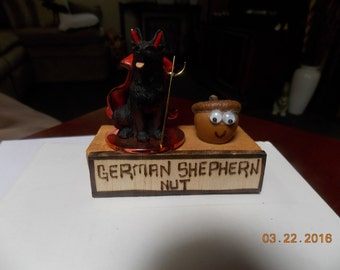 """German Shepherd Nut - What are you """"Nuts"""" about?"""
