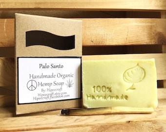 Palo Santo Soap - Organic Bar Soap - Natural Soaps - Organic Hemp Soap - Natural Hemp Soap