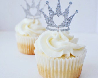 Princess Cupcake Topper, princess party, party decor